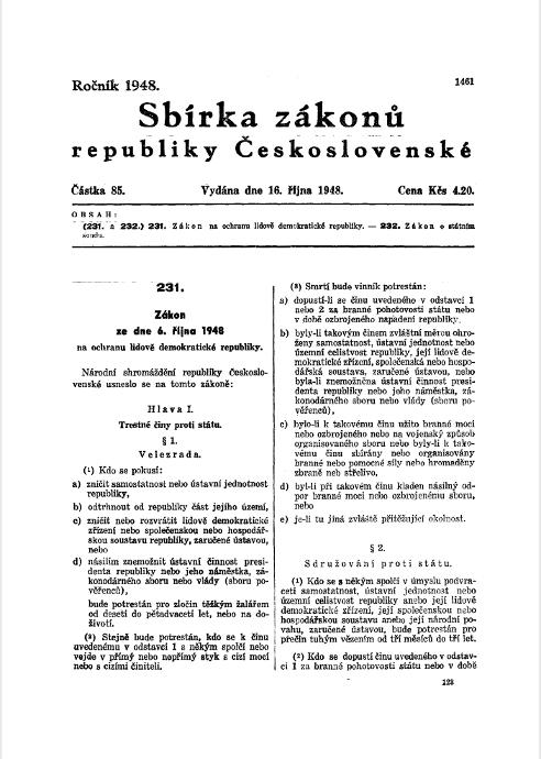 Gesetz über den Schutz der volksdemokratischen Republik